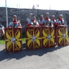 Rimania na školskom dvore